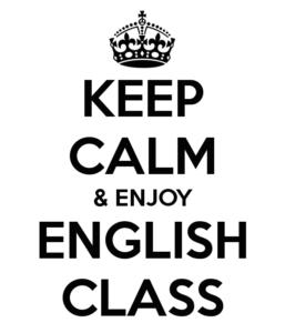 keep-calm-enjoy-english-class